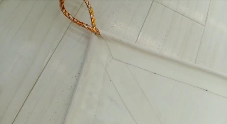 膜材焊接机穿绳效果