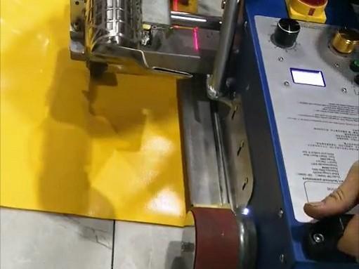 六渡PVC篷布焊接机快速门折边器
